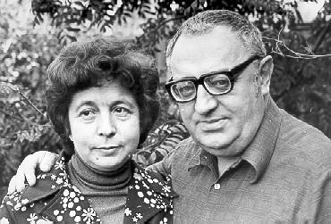 Михаил Носырев с женой. Одна из последних фотографий.